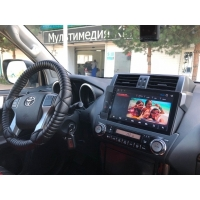 Штатная магнитола Toyota Land Cruiser Prado 150 (2014-2017 г.)